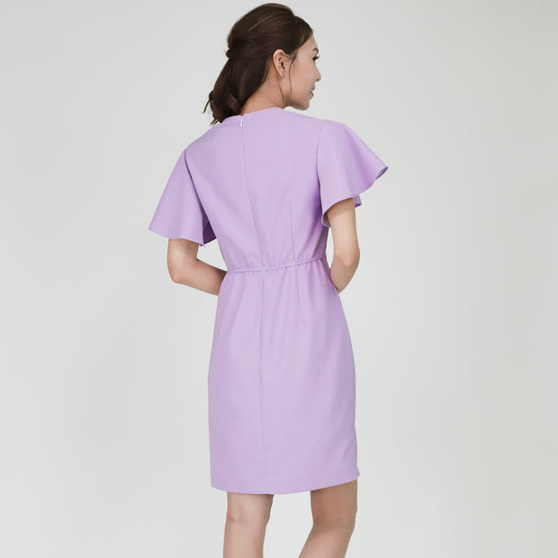 Farah Twist Front Dress