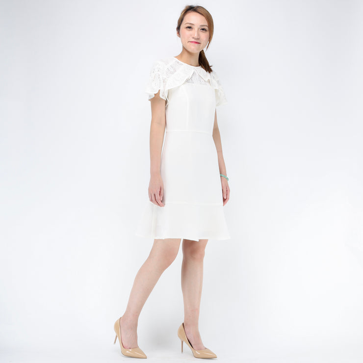 Jane ruffle cuff dress