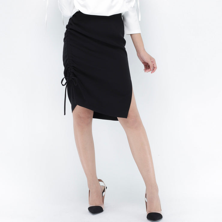 Jane tie side skirt