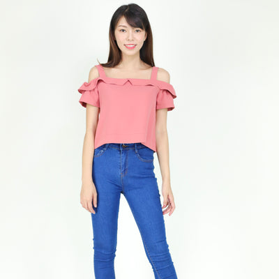 Farah Drop Shoulder Top