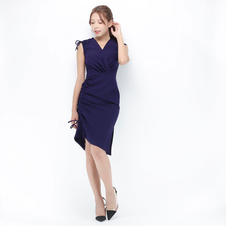 Jane tie shoulder and side dress