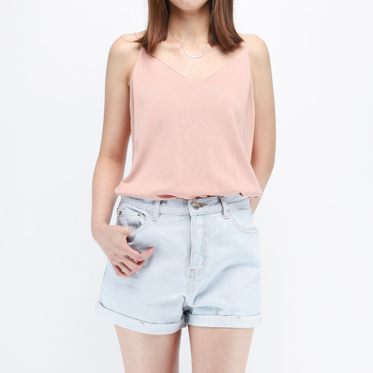 Hana denim shorts