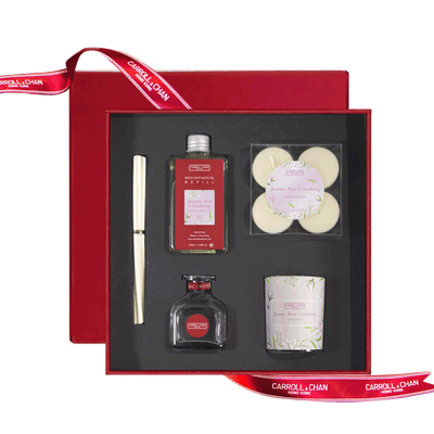Jasmine, Rose, Cranberry Gift Set