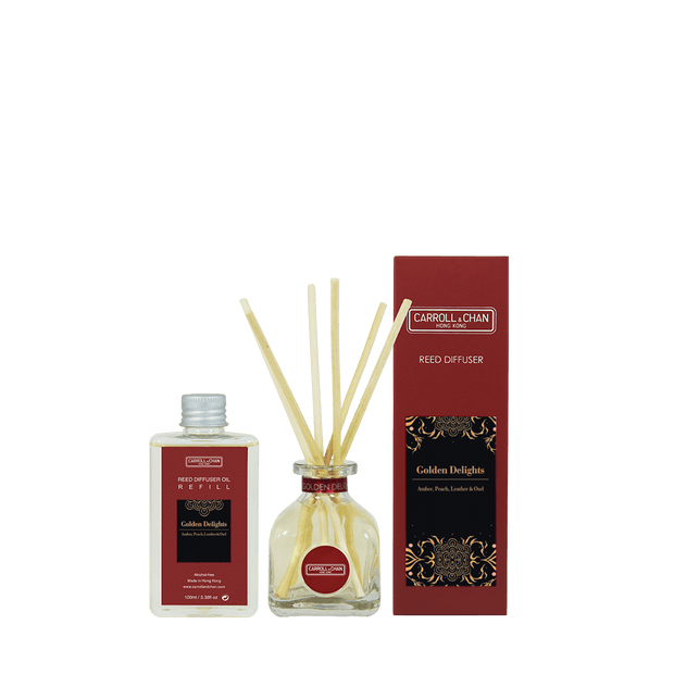 Golden Delights Reed Diffuser 100ml