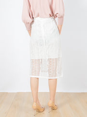 Bella lace skirt