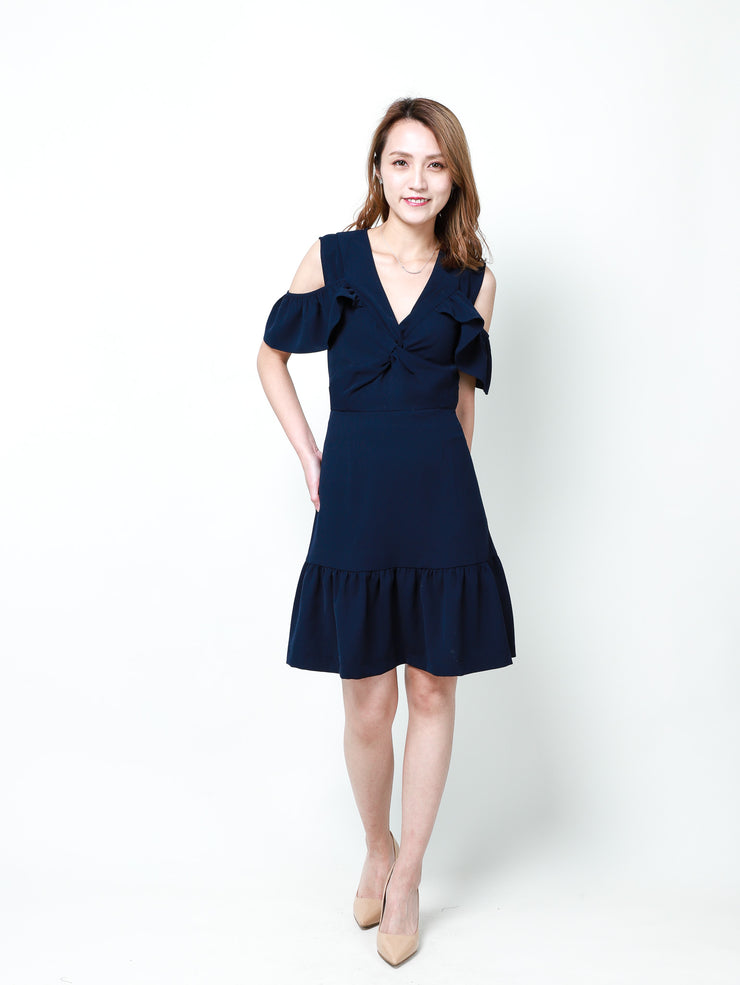Maisy drop shoulders dress
