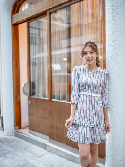 Maisy pearl tweed dress