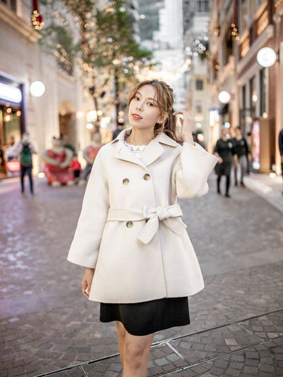 Laura double breasted wool coat