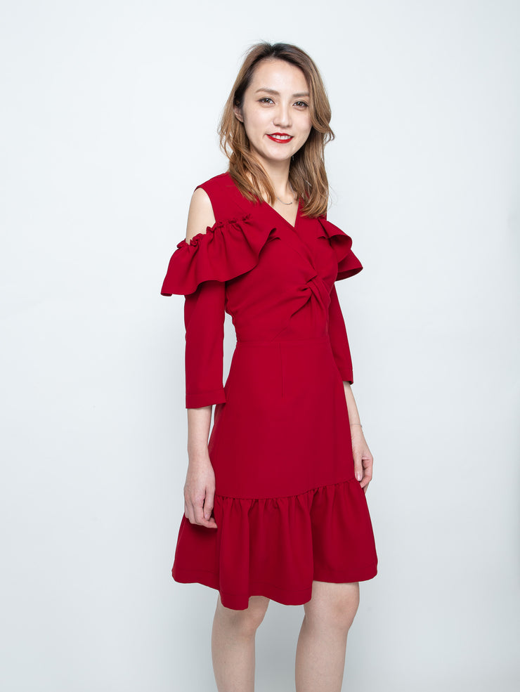 Maisy twist dress