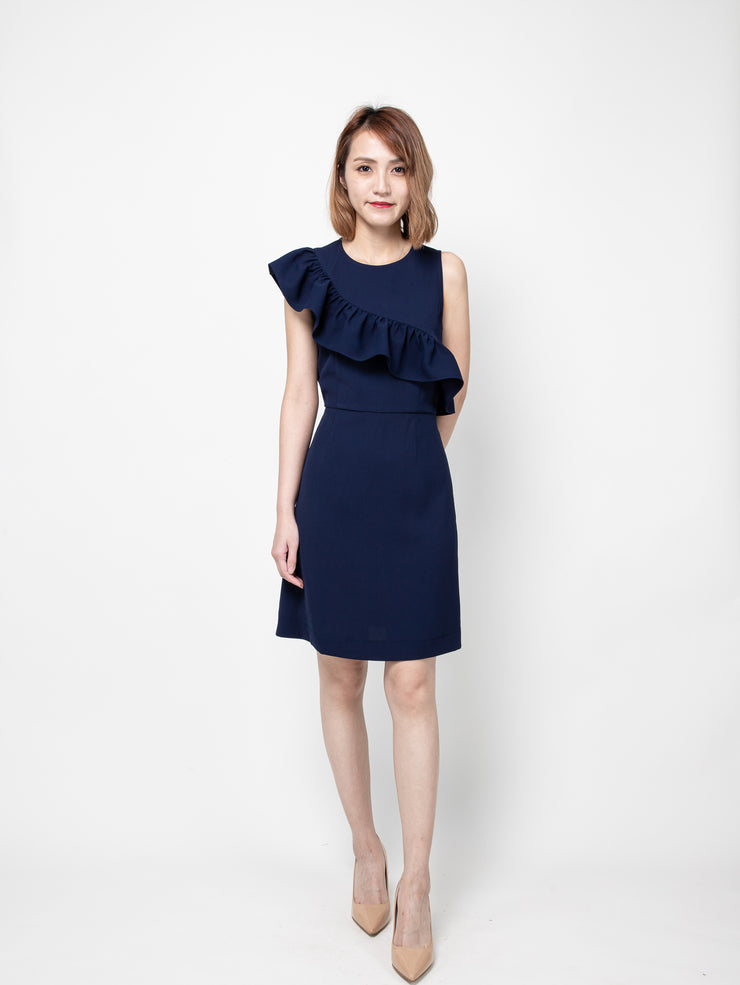 Bria asm ruffle dress