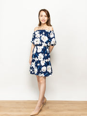 Ella drop shoulders dress