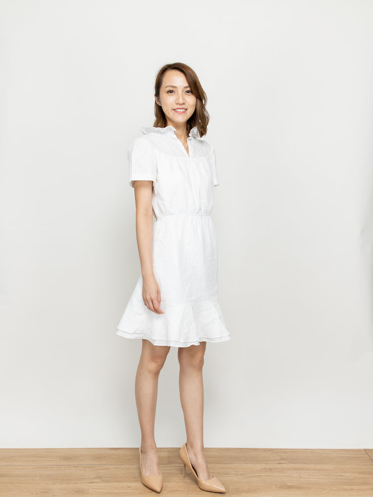 Doris white dress