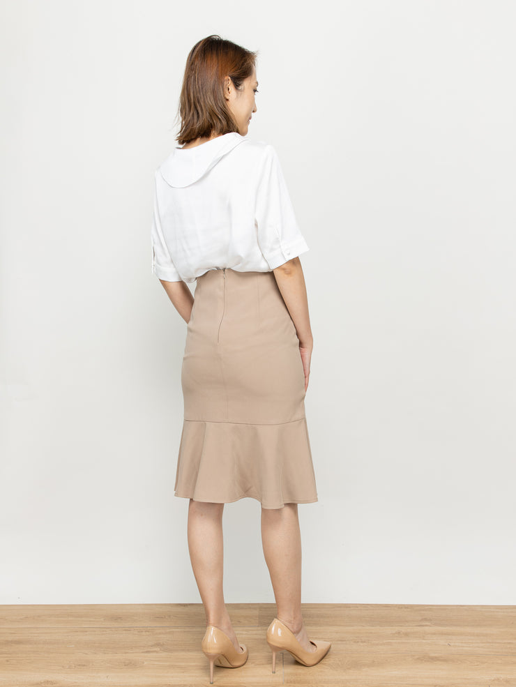 Doris fishtail skirt