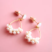 VOY Small pearl drop earrings