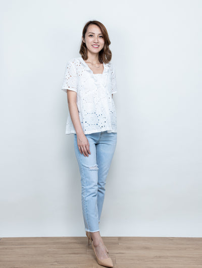 Fairen clean cotton top