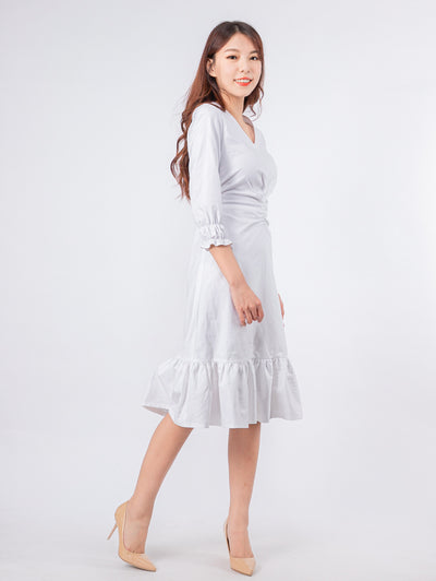 Joshie twist front dress