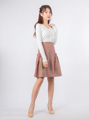 Joshie side detailed skirt