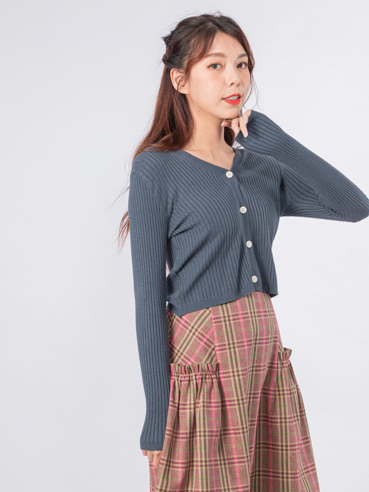 Joshie button front cardigan