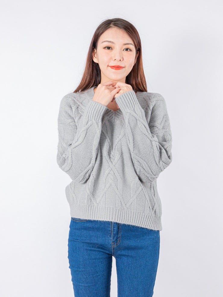 Joshie easy v neck knit top
