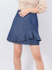 Kylie denim skirt