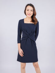 Aria twist dress