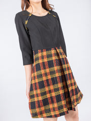 Aria tartan dress