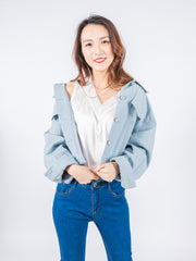 Aria denim jacket