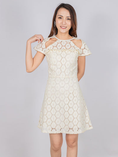 Aria lace cut out dress