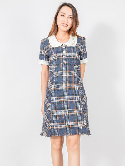 Bella tartan dress