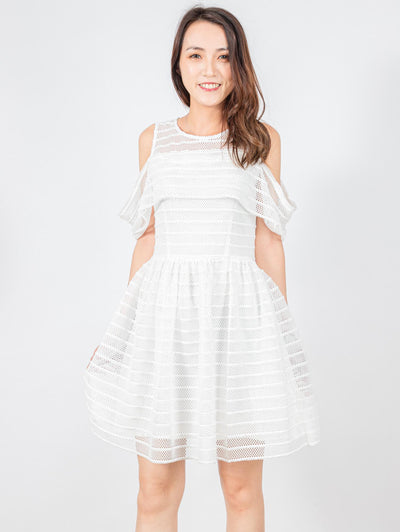 Bella tulle white dress