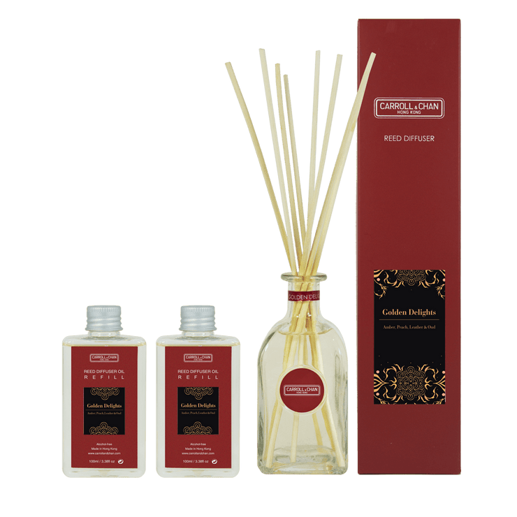 Golden Delights Reed Diffuser 200ml