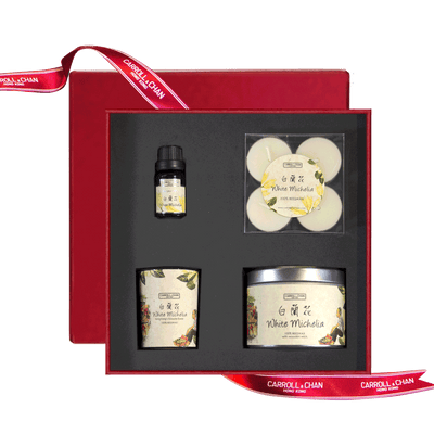 White Michelia Gift Set