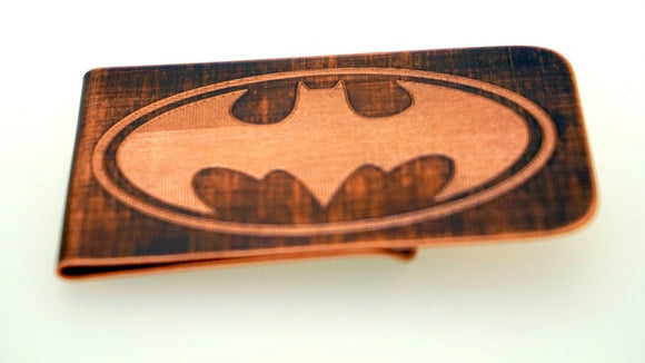 Batman Money Clip- Copper