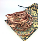 Let Your Light Shine Cuff Bracelet- Copper