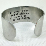 Secret Message Cuff