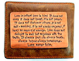 Love is Kind- Copper
