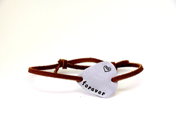 Imagine- Guitar Pick Bracelet