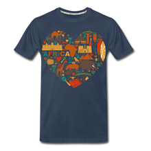 Load image into Gallery viewer, Men's Ethnic Africa Organic T-Shirt - zoviana
