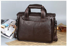Load image into Gallery viewer, Men Real Cowskin Leather Messenger Bag - zoviana