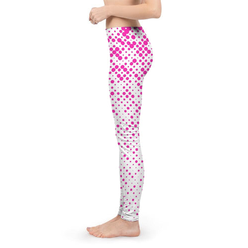 Women's Pink Dots Yoga Pants