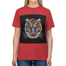 Load image into Gallery viewer, Women's Tiger Pop Art Triblend T Shirt