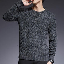 Load image into Gallery viewer, Round Neck Slim Fit Sweater