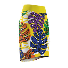 Load image into Gallery viewer, Yellow Pencil Skirt