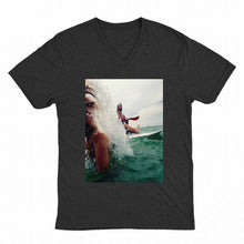 Load image into Gallery viewer, V Neck Short Sleeve T Shirt - zoviana