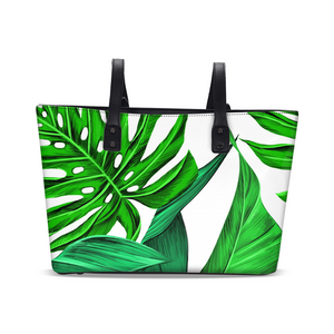 Jungle Leaves Stylish Tote Bag