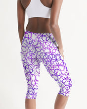 Load image into Gallery viewer, Women's Circles Mid-Rise Capri