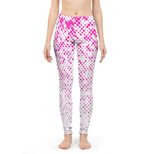 Load image into Gallery viewer, Women's Pink Dots Yoga Pants