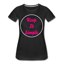 Load image into Gallery viewer, Women's Keep It Simple Premium Organic T-Shirt - zoviana