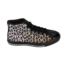 Load image into Gallery viewer, Women's Leopard High-top Sneakers