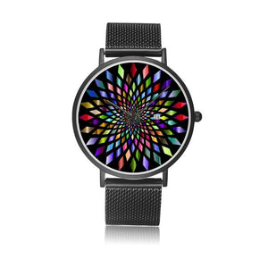 Colorfull stainless steel Water Resistant Watch